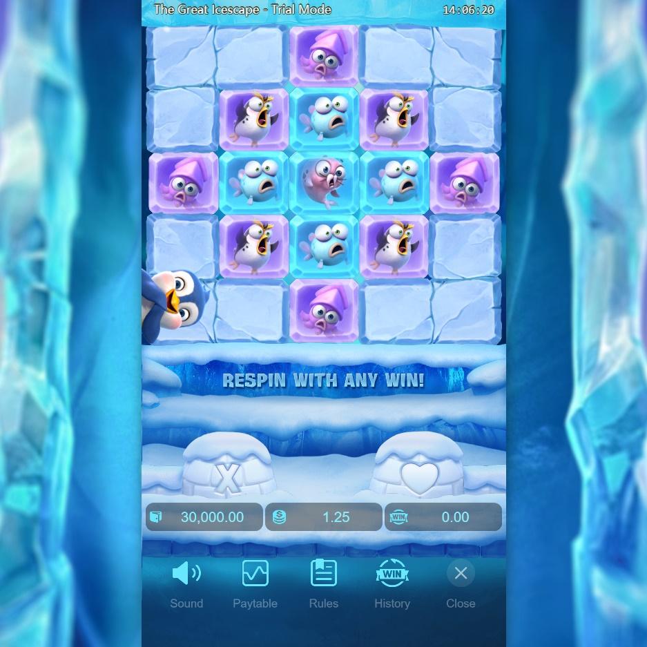 หน้าหลักเกมส์สล็อต the great icescape
